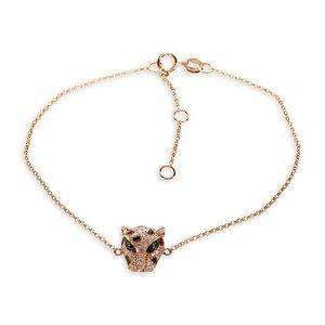 🎉HOSTPICK🎉NWOT Effy 14Kt Gold Panther Bracelet